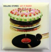 The Rolling Stones - 'Let it Bleed' Square Badge